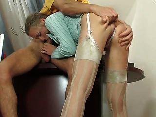 Buty Secreter In Silk Stockings