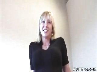 Naughty Milf Vibrating And Jerking Skills