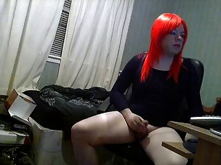 Hot Sissy Great Ass Rubs One Out For Daddy