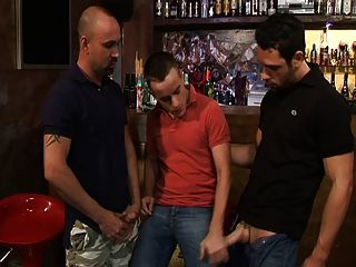 Two Studs & A Twink Walk Into A Bar...