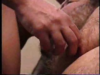 Big Bearded Daddy Sucks Cock