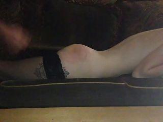 Wooden Spoon Punishment For A Slavegirl