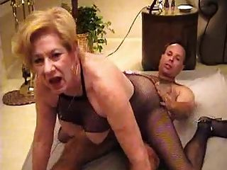 Mature Granny Diane Fucks Fan