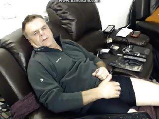 Str8 Uk Dad Spunks For Webcam Girl