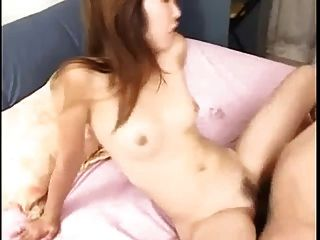 Lewd Japanese Girl Enjoys Her Friends Cock