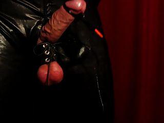 Huge Hands Free Cum Shot W Tight Balls Electro Stimulation