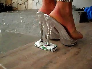 Very Sexy High Heels Crushing Toy