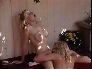 Lesbians In A Hot Tub