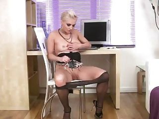 Anilos Orgasm In The Office