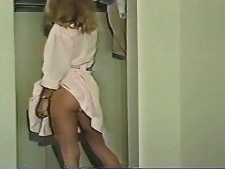 Nylon Panty Changing