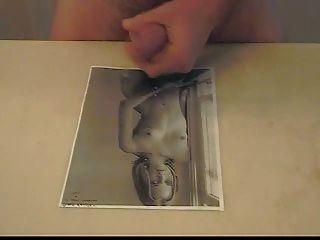 Jim Cums On Diane Kruger Pic