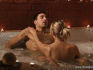 Erotic Anal Fucking While Having A Romantic Bubble Bath