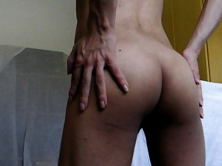 Showing My Ass - Mostrando Minha Bunda E Meu Cuzinho Hd