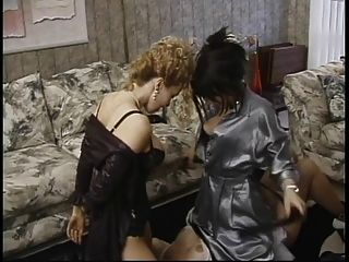 Mature Sub Sucks Nipples And Licks Asses In Lesbian Threesome