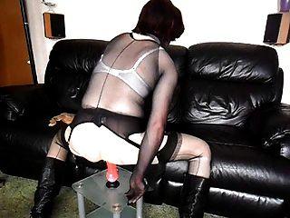 Sues Pantyhose Encasement Fun Pt2