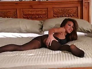 Asian Pantyhose Tease