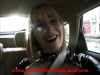Behind The Scenes Interview Slave Powered Femdom Vehicle