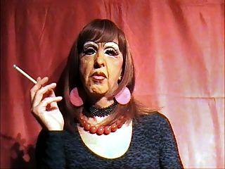 Smoking Gutter Whore Mandy