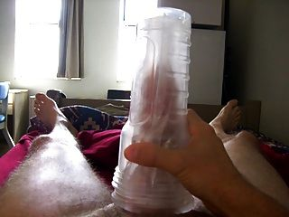 Cum Shot After Fleshlight