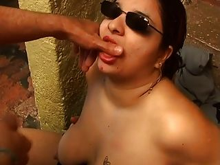 Chubby Blowjob By The Sea Shore