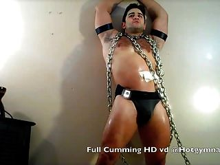 Chained Cumshot!