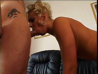 Slutty Blond Taking Cock In Ass