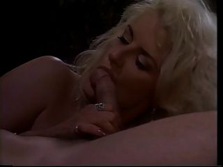 Slutty Blonde Deepthroats Cock And Eats Cum