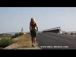 Erotic And Nude In Public On The Road Movie