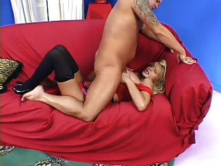 Huge Tit Milf Takes One For The Team