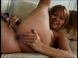 Milf Finger Fucks Herself Hard From Behind