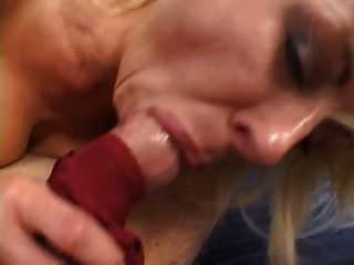 Busty Mature Blonde Takes Cock In Bed