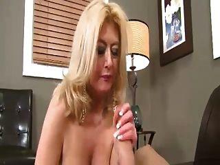 Mature Big Tits Blowjob