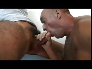 Straight Hunk Getting His Cock Sucked