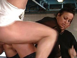 Tgirl rafaela sanchez gets fucked by 2 guys