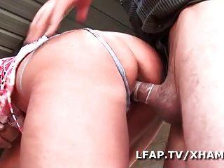 Mature Francaise Sodomisee Dans Un Gangbang Avec Papy
