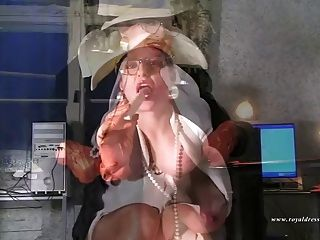 Horny Randy Stocking Secretary Works Sex Fuck In Office