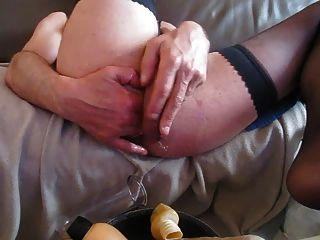 Ass Pumping Dildo Fist