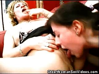 Hot Older Women In A Threesome