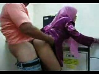 Arab Girl From Morocco  Fucking From Behind At Work