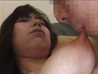 Long Rubbery Nipples Sucked