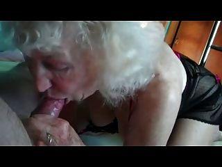 Grandma Sucks Pennis A Man