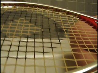 Delena Dawn 3 - Masturbating With A Tennis Racket