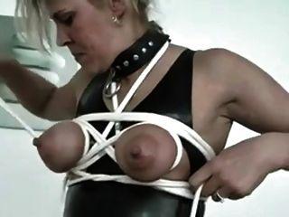 Self Tit Bondage