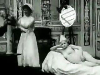Vintage Erotic Movie 3 - The Saucy Chambermaid 1907