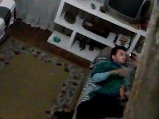 Str8 Spy Arab Guy Watching Porn