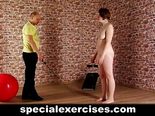 Discipline Training For Redhead Lady
