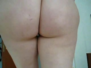 Girlfriend Showing Her Hairy Pussy.