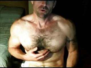 Hot Hairy Guy Cums