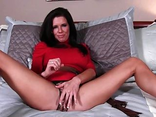 Milf In Red Dress. Joi