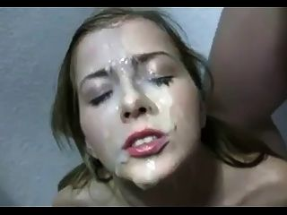 Amateur Covered With Cum